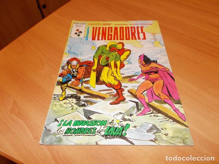 LOS VENGADORES V.2 Nº 46 (Comics und Tebeos - Vértice - Vengadores)