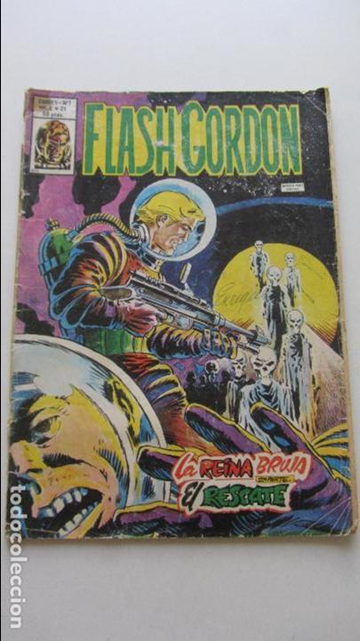 COMIC FLASH GORDON VOL. 2 - Nº 21 - LA REINA BRUJA VERTICE CS135 (Tebeos y Comics - Vértice - Flash Gordon)