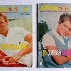 Cómics: AMOR YE-YE Nº 9 VÉRTICE NO QUERRÁS OLVIDARME -RITA PAVONE 34 PÁGINAS.. Lote 128572903