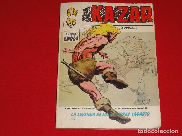 KA-ZAR. Nº 2. VOLUMEN 1. VERTICE. C-25 (Tebeos y Comics - Vértice - V.1)