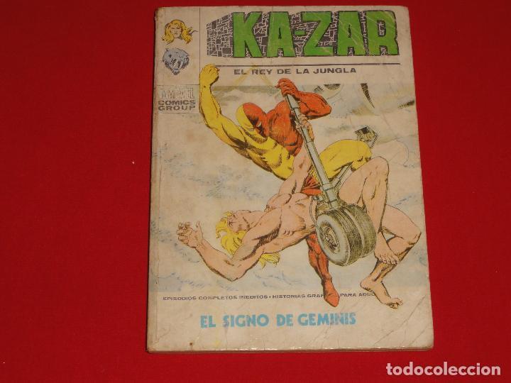 KA-ZAR. Nº 6. VOLUMEN 1. VERTICE. C-25 (Tebeos y Comics - Vértice - V.1)