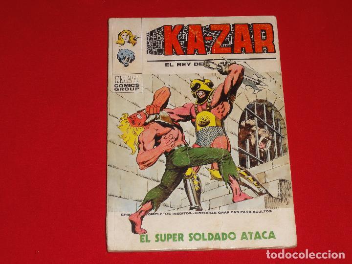 KA-ZAR. Nº 7. VOLUMEN 1. VERTICE. C-25 (Tebeos y Comics - Vértice - V.1)
