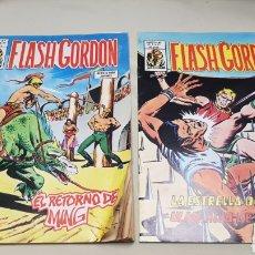 Cómics: 2 COMICS, FLASH GORDON, V. 1 Y V.2 , N°37 EDICIONES VERTICE. Lote 128608592