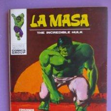 Cómics: LA MASA Nº 25 VERTICE VOLUMEN 1 ¡¡¡¡ MUY BUEN ESTADO !!!!! . Lote 128716207
