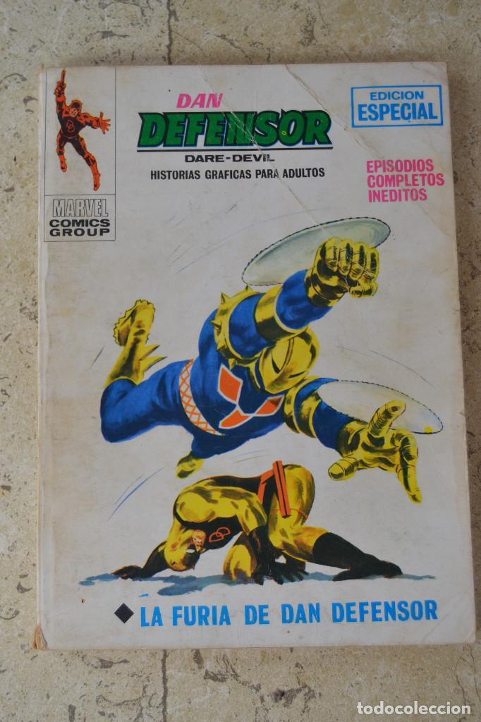 DAN DEFENSOR (DAREDEVIL) VERTICE VOL 1 Nº 10 (Tebeos y Comics - Vértice - Dan Defensor)