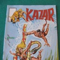 Cómics: KAZAR Nº 7 HASTA QUE LA MUERTE NOS SEPARE SURCO 1983. Lote 128862371