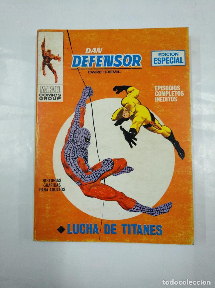 DAN DEFENSOR. DARE DEVIL. Nº 7. EDICION ESPECIAL MARVEL COMICS GROUP. LUCHA DE TITANES. TDKC15 (Tebeos y Comics - Vértice - Dan Defensor)