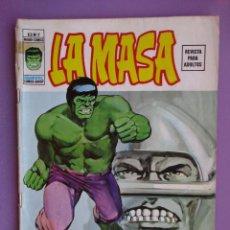 Cómics: LA MASA Nº 2 VERTICE VOLUMEN 2 ¡¡¡¡ BUEN ESTADO !!!!!. Lote 129022379
