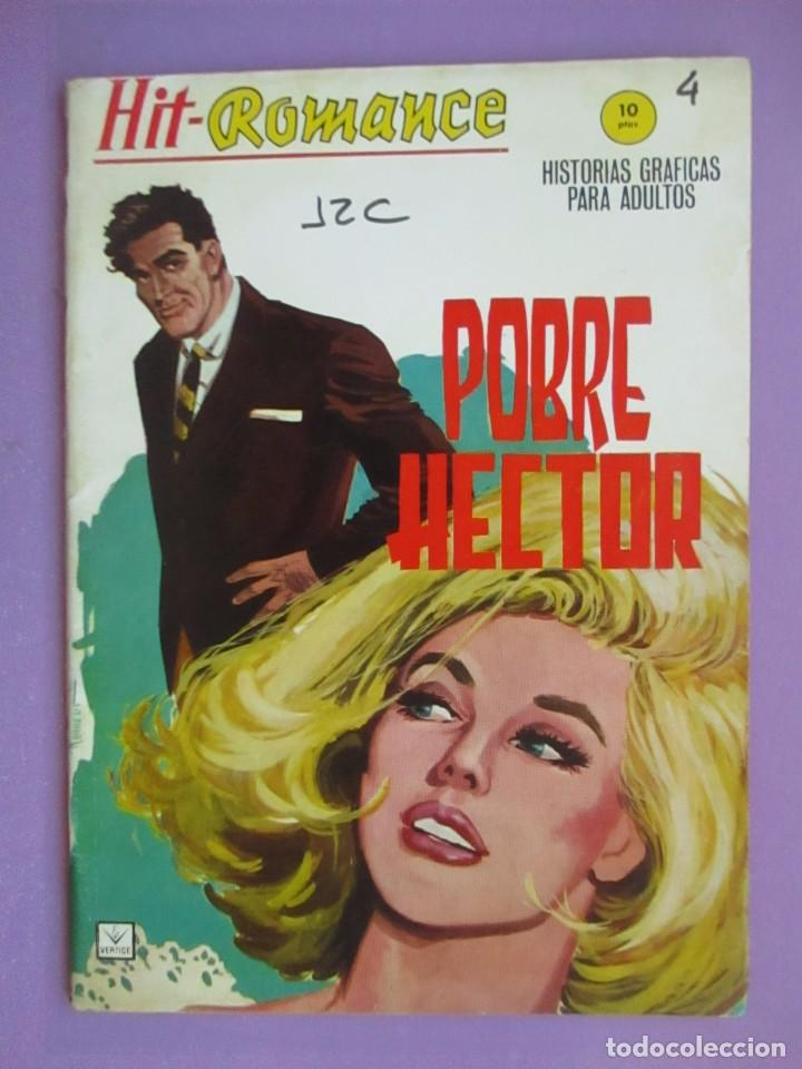 HIT ROMANCE Nº 4 VERTICE GRAPA ¡¡¡¡ BUEN ESTADO Y MUY DIFICIL!!!!! (Tebeos y Comics - Vértice - V.1)