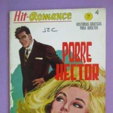 Cómics: HIT ROMANCE Nº 4 VERTICE GRAPA ¡¡¡¡ BUEN ESTADO Y MUY DIFICIL!!!!!. Lote 129024515