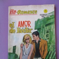 Cómics: HIT ROMANCE Nº 6 VERTICE GRAPA ¡¡¡¡ NORMAL ESTADO Y DIFICIL!!!!!. Lote 129024687