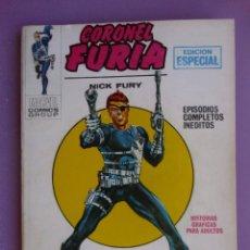 Cómics: CORONEL FURIA Nº 1 VERTICE VOLUMEN 1 ¡¡¡¡ BUEN ESTADO !!!!!. Lote 129100955