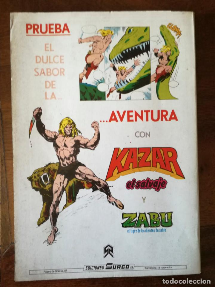 Cómics: Judo karate kung-fu-año nº 1 1983 color Vertice Surco varias aventuras - Foto 2 - 148421109