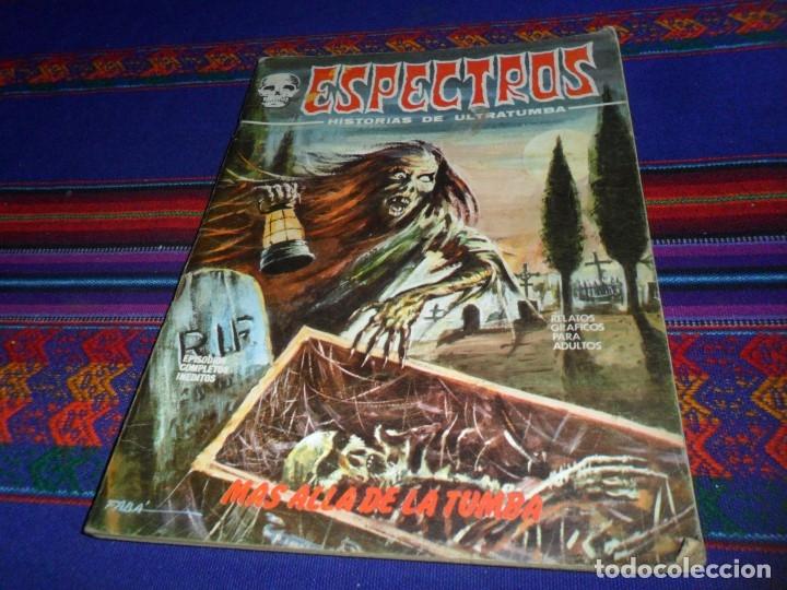 Cómics: VÉRTICE VOL. 1 ESPECTROS 11 12 19 20 24. 1972. 25 PTS. REGALO NºS 1 3 21. DIFÍCILES!!!!! - Foto 6 - 113889900