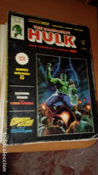 Cómics: La Masa The Rampaging Hulk COMPLETA Nº 1 al 15 - Foto 2 - 129371263
