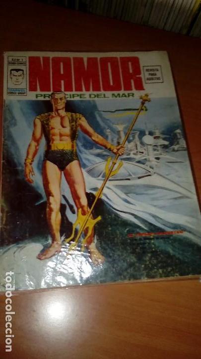 NAMOR V2 Nº 1 Y 2 COMPLETA EN MUY BUEN ESTADO (Tebeos y Comics - Vértice - V.2)