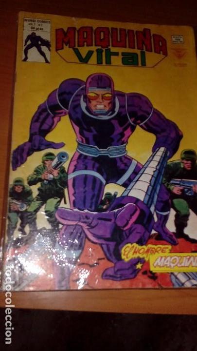 MÁQUINA VITAL COMPLETA Nº 1 AL 6 VERTICE (Tebeos y Comics - Vértice - V.2)