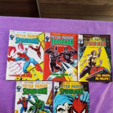 Cómics: LOTE SPIDERMAN PETER PARKER VERTICE GRAPA VOL.1 N° 13-14-15-16 Y 17 38PAG. Lote 129379536