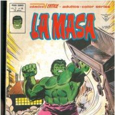 Comics: LA MASA. Nº 39. VOLUMEN 3. VERTICE. C-26. Lote 129432767