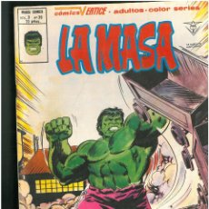 Comics: LA MASA. Nº 39. VOLUMEN 3. VERTICE. C-26. Lote 129432803