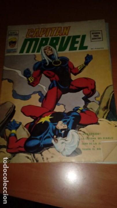 Cómics: Capitán Marvel COMPLETA Nº 1 y 2 MUY DIFÏCILES - Foto 3 - 129448515