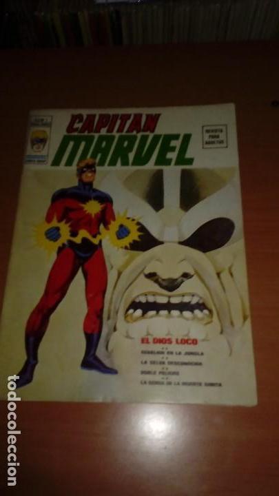 CAPITÁN MARVEL COMPLETA Nº 1 Y 2 MUY DIFÏCILES (Tebeos y Comics - Vértice - V.2)