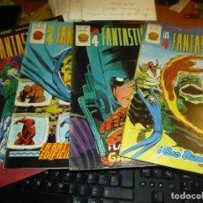 Fumetti: LOS 4 FANTASTICOS, VOL. 3 DE MUNDI COMICS, NUMEROS 22 - 27 - 30 - 32, COMO NUEVOS. Lote 129487199
