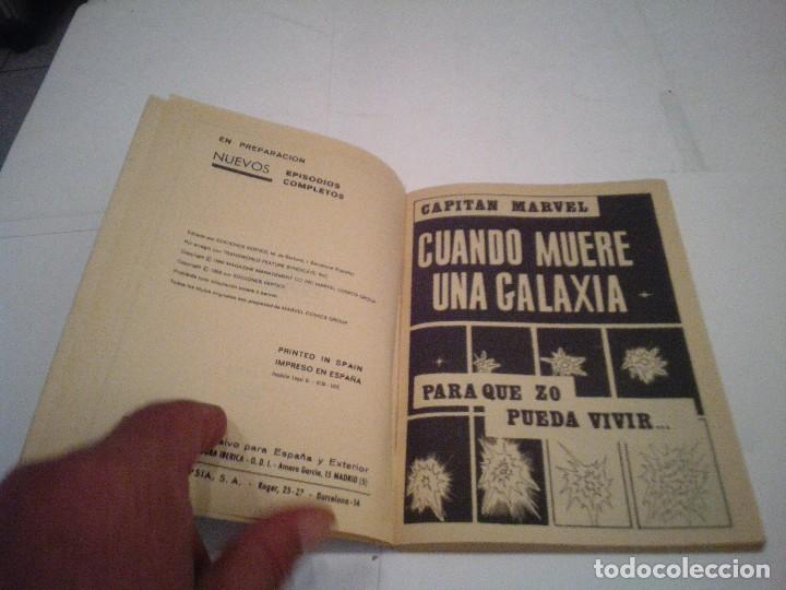 Cómics: CAPITAN MARVEL - VERTICE - VOLUMEN 1 - NUMERO 6 - MBE - GORBAUD - cj 104 - Foto 3 - 129604171