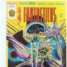Cómics: LOS 4 FANTASTICOS. Nº 31. VOLUMEN 3. VERTICE. C-26. Lote 129604215