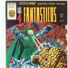 Comics : LOS 4 FANTASTICOS. Nº 32. VOLUMEN 3. VERTICE. C-26. Lote 129604295