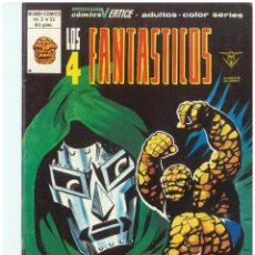 Cómics: LOS 4 FANTASTICOS. Nº 33. VOLUMEN 3. VERTICE. C-26. Lote 129604371