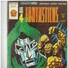 Cómics: LOS 4 FANTASTICOS. Nº 33. VOLUMEN 3. VERTICE. C-26. Lote 129604395