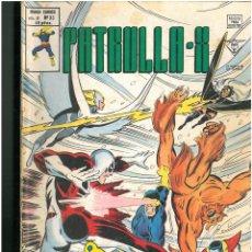 Cómics: PATRULLA X. Nº 33. VOLUMEN 3. VERTICE. C-26. Lote 129977279