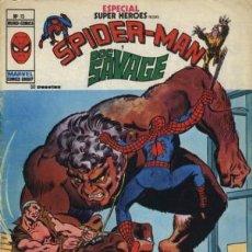 Comics: SUPER HÉROES ESPECIAL - Nº 15 -ÚLTIMO DE LA COLECCIÓN-SPIDER-MAN & DOC SAVAGE-1979-BUENO-LEAN-9226. Lote 130206843