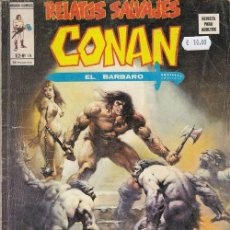 Cómics: RELATOS SALVAJES Nº 18 VOL 2 - CONAN - VERTICE. Lote 130272646