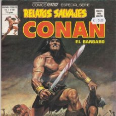 Comics : RELATOS SALVAJES Nº 80 VOL 1 - CONAN - VERTICE ESPECIAL SERIES. Lote 130273526