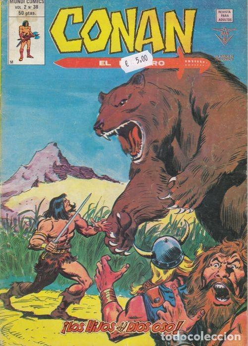 CONAN EL BARBARO VOL 2 Nº 38 - VERTICE (Tebeos y Comics - Vértice - Conan)