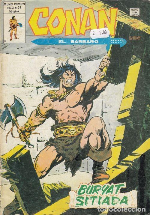 CONAN EL BARBARO VOL 2 Nº 39 - VERTICE (Tebeos y Comics - Vértice - Conan)