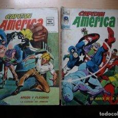 Cómics: CAPITAN AMERICA - V 2 - DOS NÚMEROS - 4 Y 5 . VERTICE. Lote 130624026