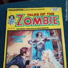 Cómics: ESCALOFRÍO 29 TALES OF THE ZOMBIE VERTICE. Lote 130710244
