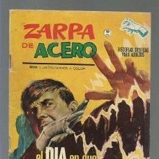 Cómics: ZARPA DE ACERO 9, 1965, VERTICE FORMATO GRAPA, MUY BUEN ESTADO. Lote 257743110