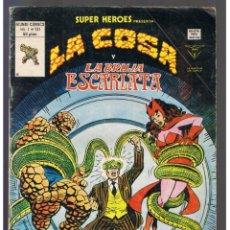 Cómics: LA COSA Y LA BRUJA ESCARLATA VOL. 1 Nº 131 - VERTICE -MUNDI-COMICS - SUPER HEROES. . Lote 130727249