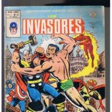 Cómics: LOS INVASORES VOL. 1 Nº 43 - VERTICE - MUNDI-COMICS - MARVEL. Lote 130727724