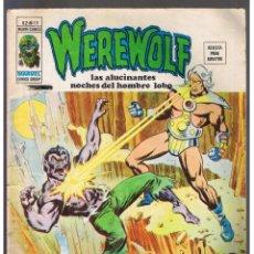 Cómics: COMICS - WEREWOLF HOMBRE LOBO VOL. 2 Nº 19 - VERTICE - MUNDI-COMICS - MARVEL . Lote 130728554