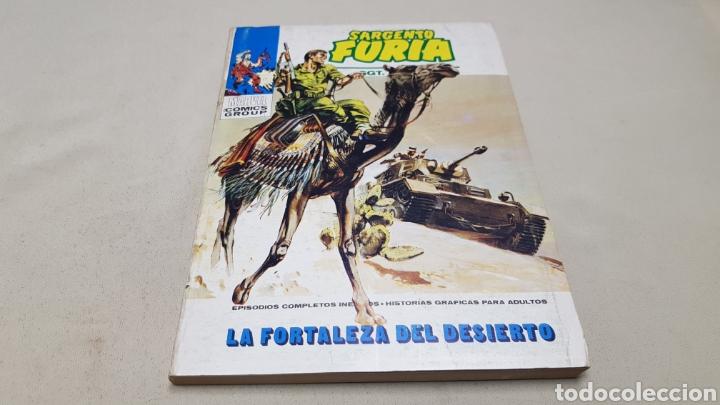 COMICS DE MARVEL, SARGENTO FURIA N°6, LA FORTALEZA DEL DESIERTO, EDICIONES VERTICE (Tebeos y Comics - Vértice - Furia)