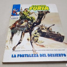 Cómics: COMICS DE MARVEL, SARGENTO FURIA N°6, LA FORTALEZA DEL DESIERTO, EDICIONES VERTICE. Lote 130933004