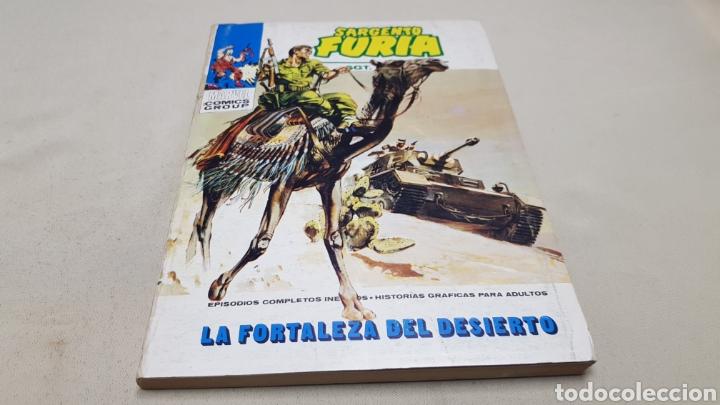 Cómics: Comics de marvel, sargento furia n°6, la fortaleza del desierto, ediciones vertice - Foto 2 - 130933004