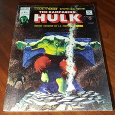 Cómics: THE RAMPAGING HULK 4 CASI EXCELENTE ESTADO VERTICE. Lote 131000973