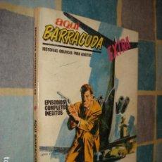 Cómics: AQUÍ BARRACUDA 9: LA SECTA SINIESTRA, 1968, VERTICE, BUEN ESTADO. Lote 131065112