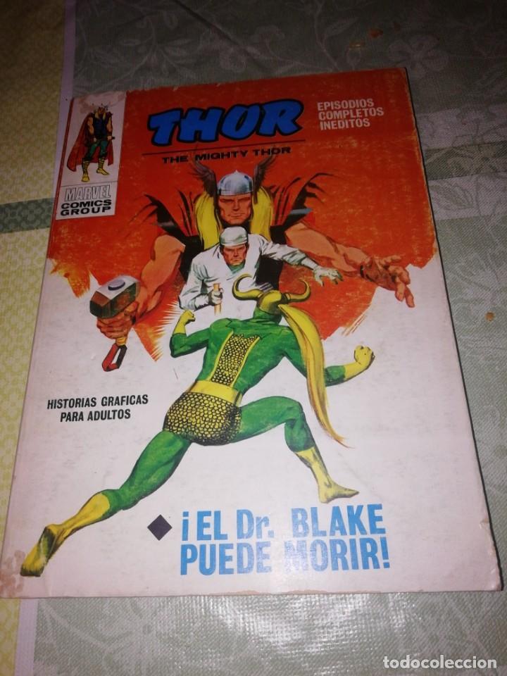 VERTICE V-1 THOR N 23 EL DOCTOR BLAKE PUEDE MORIR (Tebeos y Comics - Vértice - Thor)